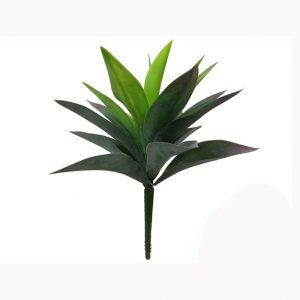 artificial Agave 25cm green red