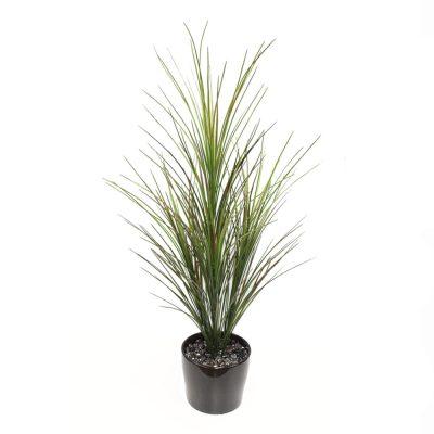 ARTIFICIAL DRACENA GRASS 80CM COMPLETE WITH FIBREGLASS POT
