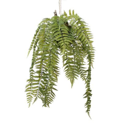 ARTIFICIAL SWORD FERN HANGING PLANT 91CM